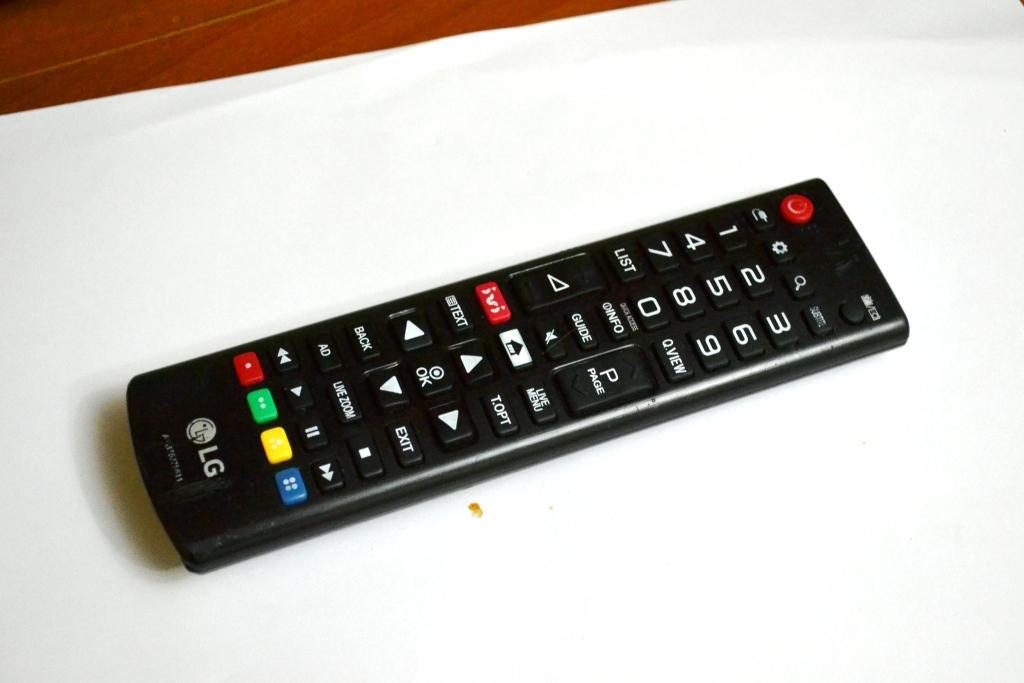 Удалить приложение на телевизоре lg смарт тв можно с помощью пульта ДУ