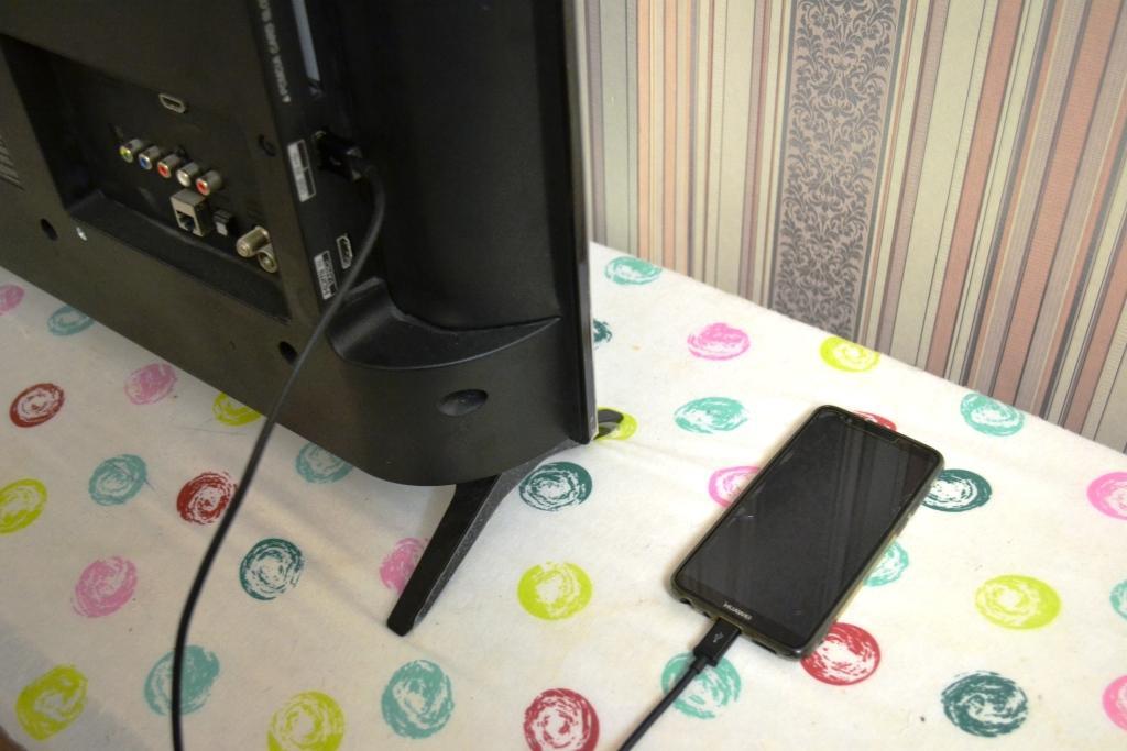 Подключение телефона к телевизору лж смарт Твпо USB